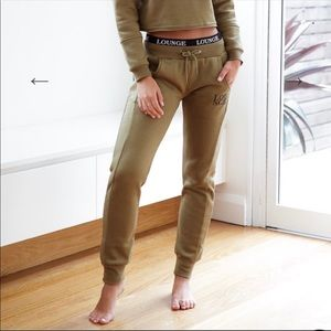 Lounge Underwear Olive Joggers